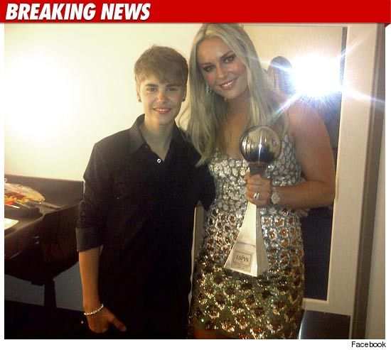 Justin Bieber Lindsey Vonn ESPY