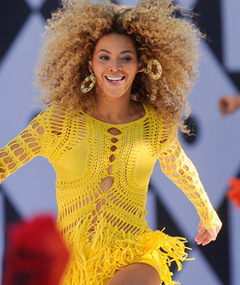 Beyonce Calls Atlantis Astronauts -- Listen Now!