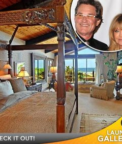 Goldie Hawn and Kurt Russell's Malibu Home Up for Sale!