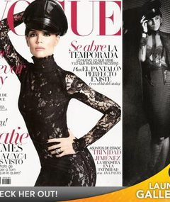 Katie Holmes Gets Dominatrix Makeover for Vogue!