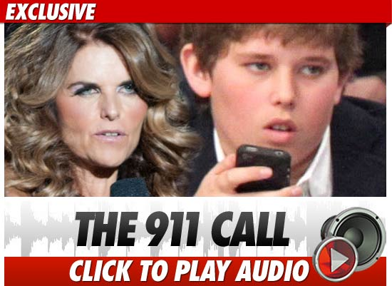 Maria Shriver 911 Call