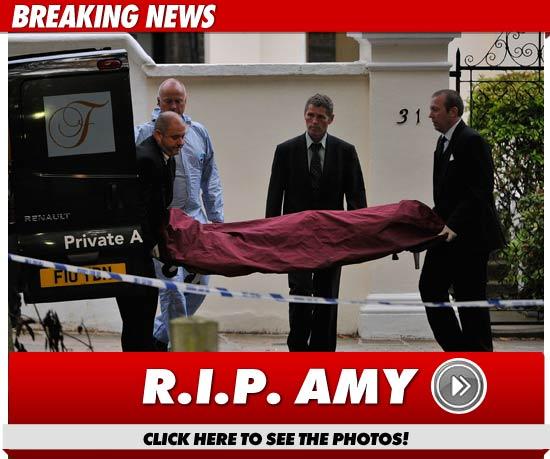 Breaking News: Amy Winehouse Dead, Stars React | toofab.com