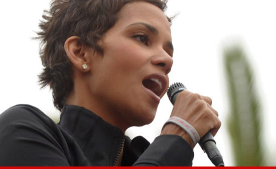 ... yet -- because two weeks after Halle Berry's alleged house invader pled ...