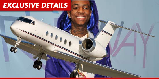 SOULJA BOY DROPS $55 MILLION ON PRIVATE JET