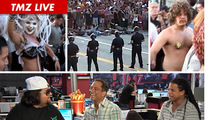 "TMZ Live -- L.A. Rave Riot Witness: Chumlee from ""Pawn Stars"""