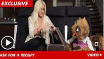 Lindsay Lohan -- BURNED By a Puppet from New Zealand