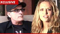 Charlie Sheen -- Footing the Bill for Brooke Mueller's Rehab
