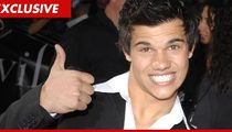 Taylor Lautner -- Check Out My New $200,000 Toy