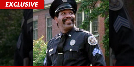 0803 bubba smith cop ex Bubba Smiths Final Film    Spoofing Police Academy
