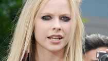 Avril Lavinge's Concert Scare -- Fan Rushes Her On Stage!