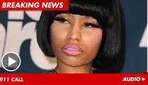 Nicki Minaj 911 -- 'Look at What He Did to My Face'
