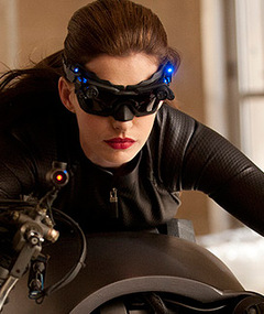 First Look: Anne Hathaway in Costume as Catwoman!