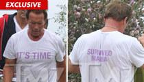 Arnold Schwarzenegger: I Survived Maria!