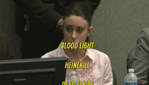 Casey Anthony -- My Beer Glass Is Half Full