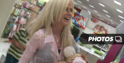 Michaele Salahi -- Shopping for Baby Goods