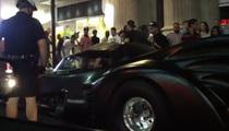 'Batmobile' Breaks Down In Canada -- Caught on Tape!