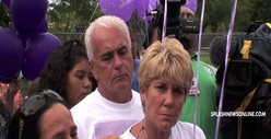Casey Anthony&#039;s Parents Attend Caylee Memorial