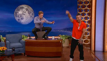 The Situation Teaches Conan O'Brien His Ab Workout