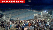 Five Dead After Stage Collapses at Sugarland Show in Indiana