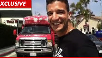 Mark Ballas Gives the Shirt Off His Back ... for Charity