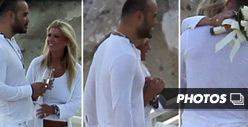 Tara Reid & Hubby -- The Surprise Wedding Pics