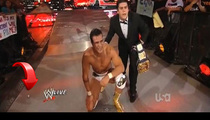 WWE Monday Night Raw -- Eeek! A Mouse Goes Toe-to-Toe with John Cena