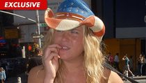 Naked Cowgirl BUSTED in New York City for Taking Photos for Cash