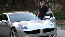 Leo DiCaprio's New Hybird Sports Car -- A Fisker Karma