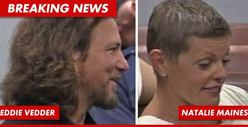 West Memphis 3 Case -- Eddie Vedder Arrives at Court