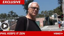 Phil Jackson -- I Feel Kobe Bryant's Church Pain