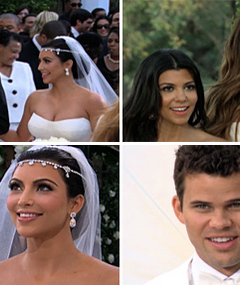 Inside Kim Kardashian&#039;s Wedding -- New Photos and Video!