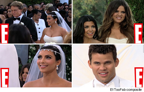 Inside Kim Kardashian 39s Wedding New Photos and Video