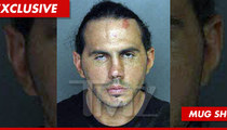 Wrestler Matt Hardy's Mug Shot -- The Eyes Have It