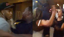 Trey Songz -- The Girl-on-Girl Fight Footage