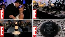 Inside Kim Kardashian's Reception -- New Video!