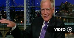 Letterman Blames Earthquake on Kirstie Alley