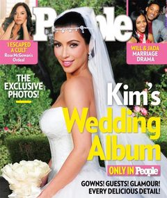 Wedding Photo: Kim Kardashian&#039;s $1.5 Million Magazine Cover