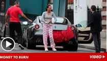 Formula 1 Heiress -- Hot Chick in a Ferrari