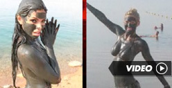 Hot Mud-Covered Model Dethrones Bar Refaeli