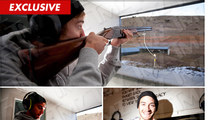 Olympic Snowboarder -- DESTROYER Of Clay Pigeons