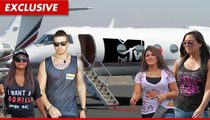 'Jersey Shore' Cast Members -- Escape the Hurricane for VMAs