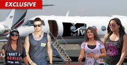 &#039;Jersey Shore&#039; Cast Members -- Escape the Hurricane for VMAs