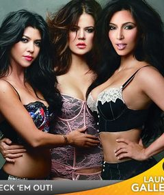 Sexy Kardashian Ad Campaign -- See the Photos