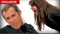 Mel Gibson -- Oksana's Music BLOWS!