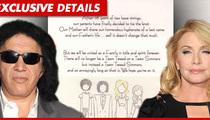 Gene Simmons -- The Smart Ass Wedding Announcement