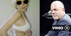 Lindsay Lohan&#039;s Tattoo -- Connected to Billy Joel and Max
