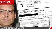 Russell Armstrong -- The Gruesome Coroner's Report