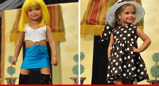 Toddlers & Tiaras Paisley dressed as Julia Roberts in Pretty Woman