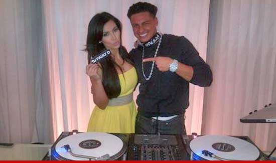 Kim Kardashian and Pauly D Cause Mayhem in Manhattan