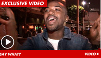 Ray J's Sex Tape Advice -- Pot, Meet Kettle
